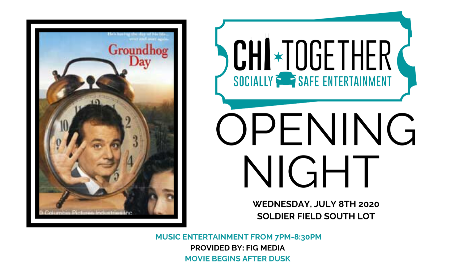 CHI-Together: Socially Safe Music & Movie Entertainment