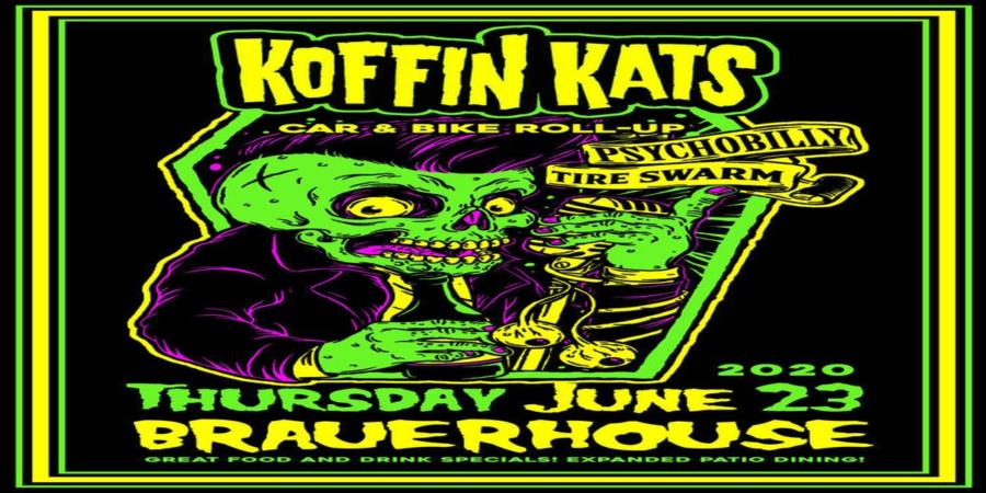 The Koffin Kats Live at Tire Swarm Car and Bike Show