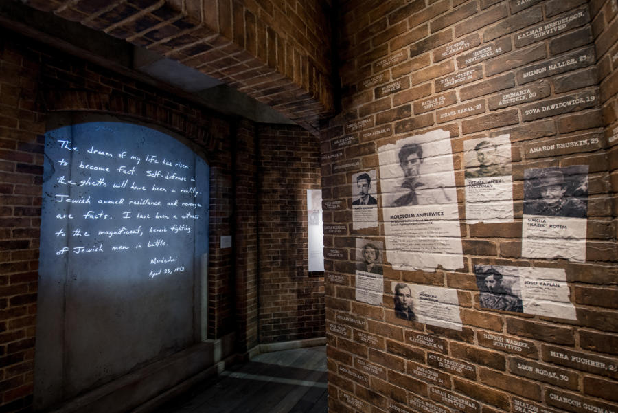 Resistance Gallery at the Illinois Holocaust Museum