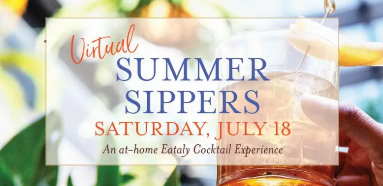 Virtual Summer Sippers