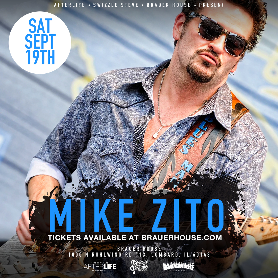 Mike Zito Live at Brauer House – One Night Only!