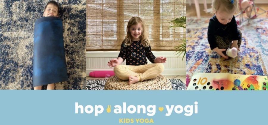 Hop Along Yogi Kids Yoga