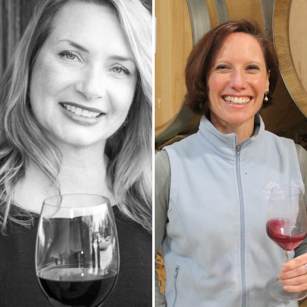 Cynthia Lohr (Co-owner, CBO) & Kristen Barnhisel (Winemaker, White Wines)
