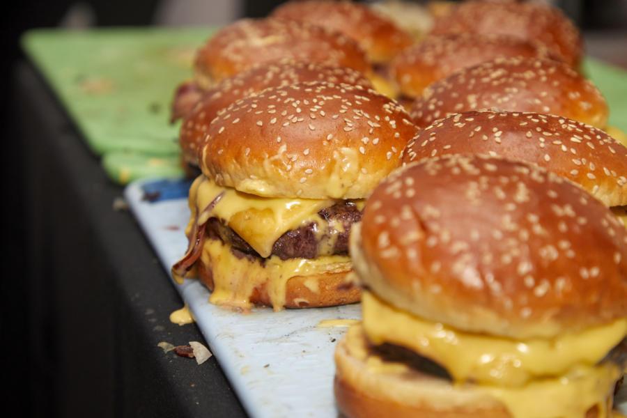 Hamburger Hop at Chicago Gourmet