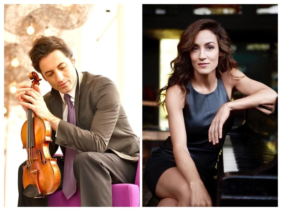 Virtual Dame Myra Hess Memorial Concerts | Phillippe Quint, Violin And Marta Aznavoorian, Piano