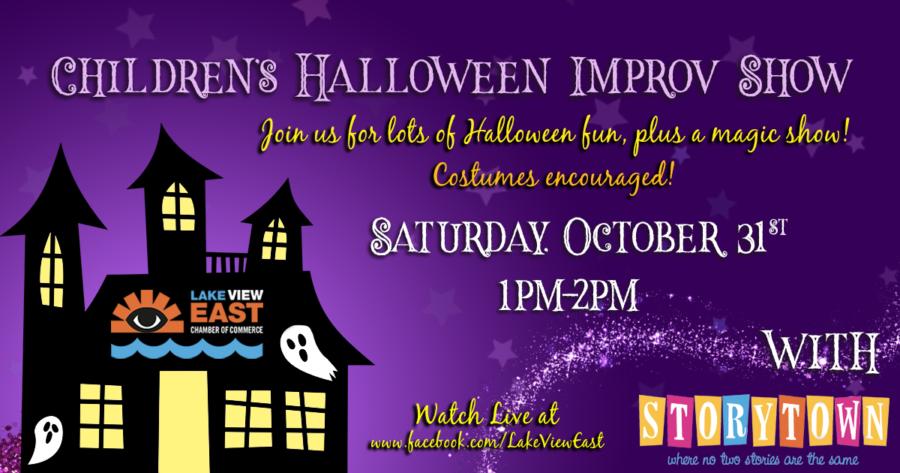 LIVE Children's Halloween Improv Show