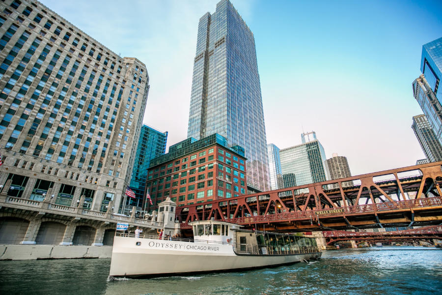 Go on a Worldly Voyage… on the Chicago River!