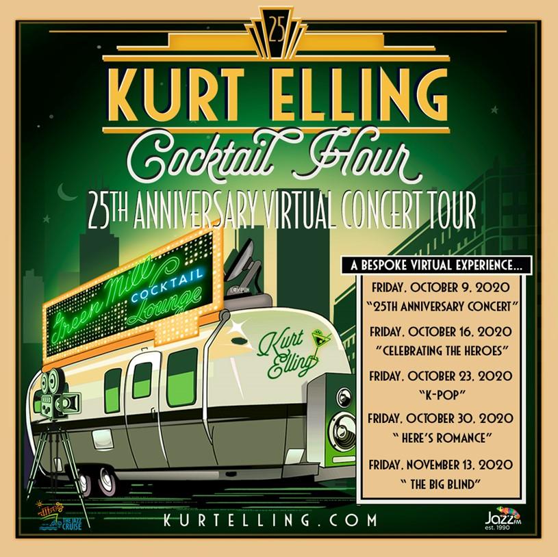 Kurt Elling Cocktail Hour: 25th Anniversary Virtual Concert Tour