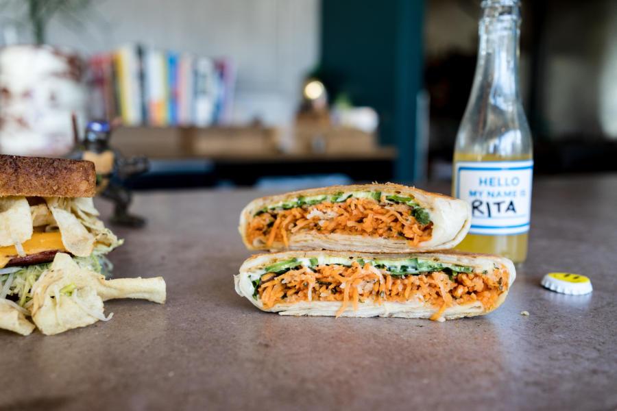 A veggie sandwich from Big Kids
