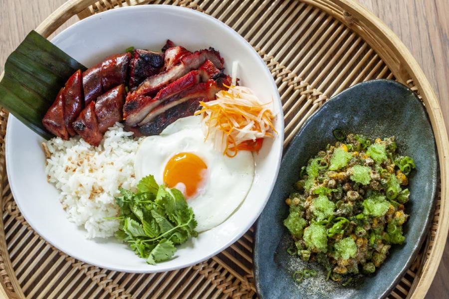 Filipino breakfast at Kasama