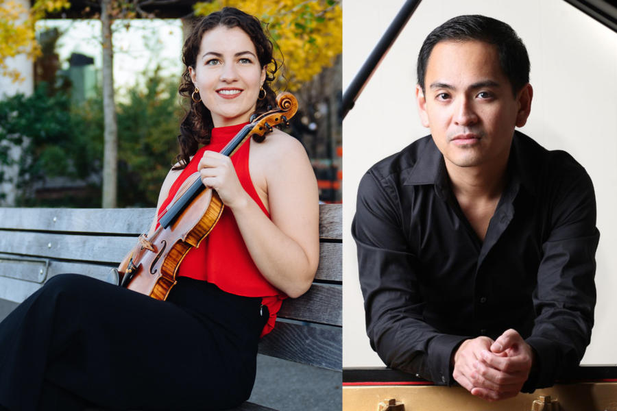 Virtual Dame Myra Hess Memorial Concerts | Rannveig Marta Sarc, Violin And Victor Asunción, Piano