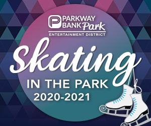 Ice Skating at Rosemont's Parkway Bank Park