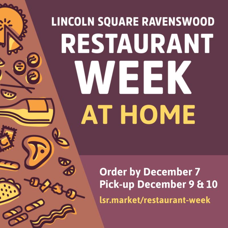 LSR Restaurant Week at Home