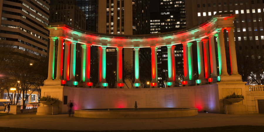 Millennium Park at Home: Chicago Holidays