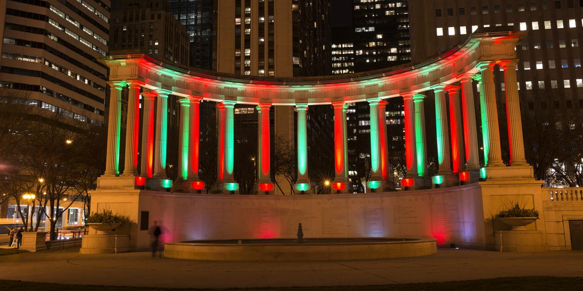 Millennium Park at Home: Chicago Holidays
