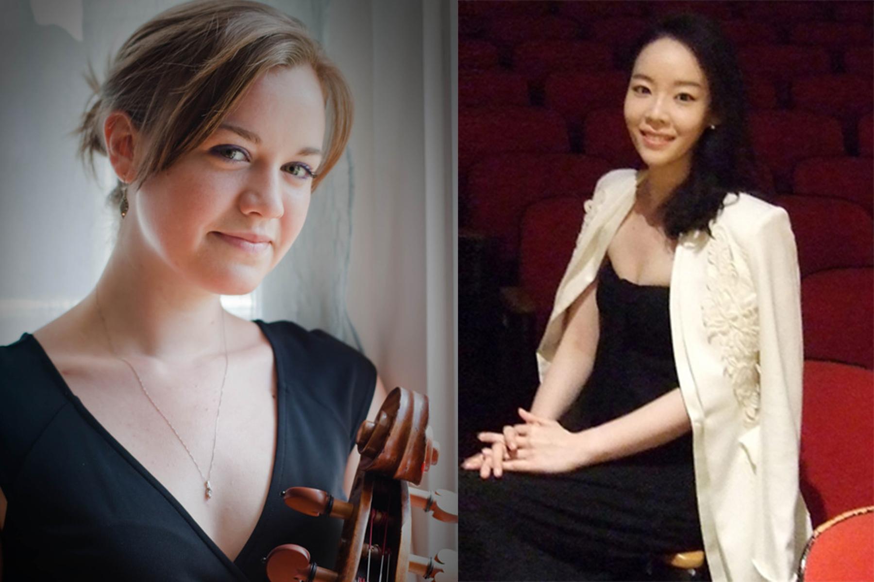 Dame Myra Hess Memorial Concerts | Cora Swenson Lee, Cello And Claire-chung Lim, Piano