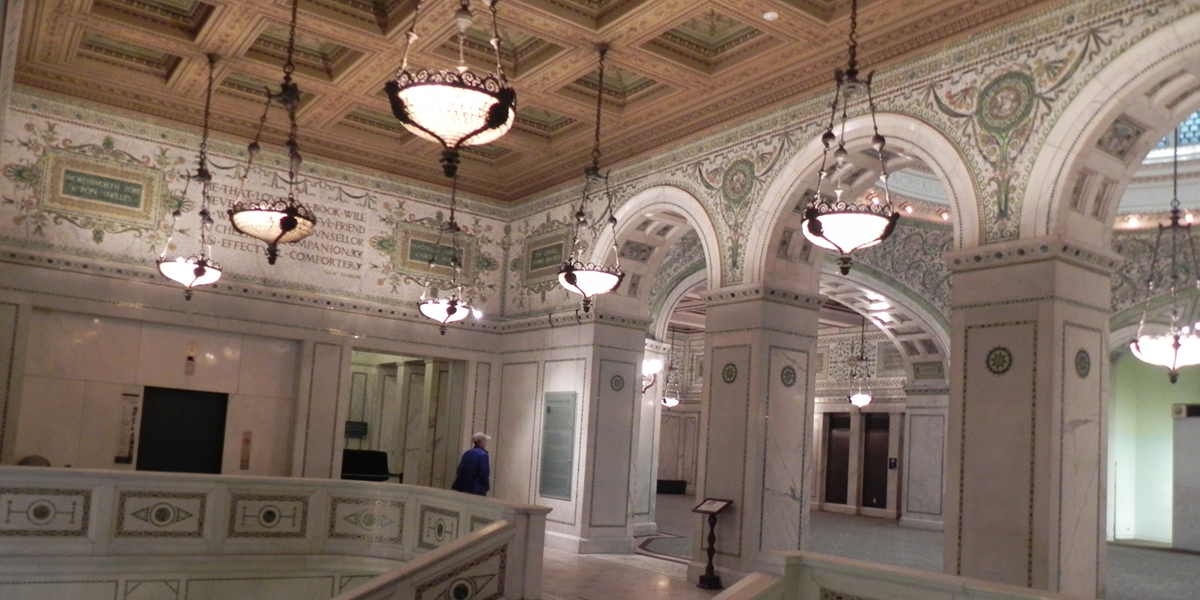 Historic Chicago Cultural Center Virtual Tours