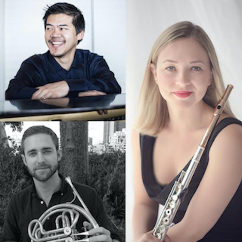 Dame Myra Hess Memorial Concerts | Emma Gerstein, Flute; Alexander Love, Horn; Winston Choi, Piano
