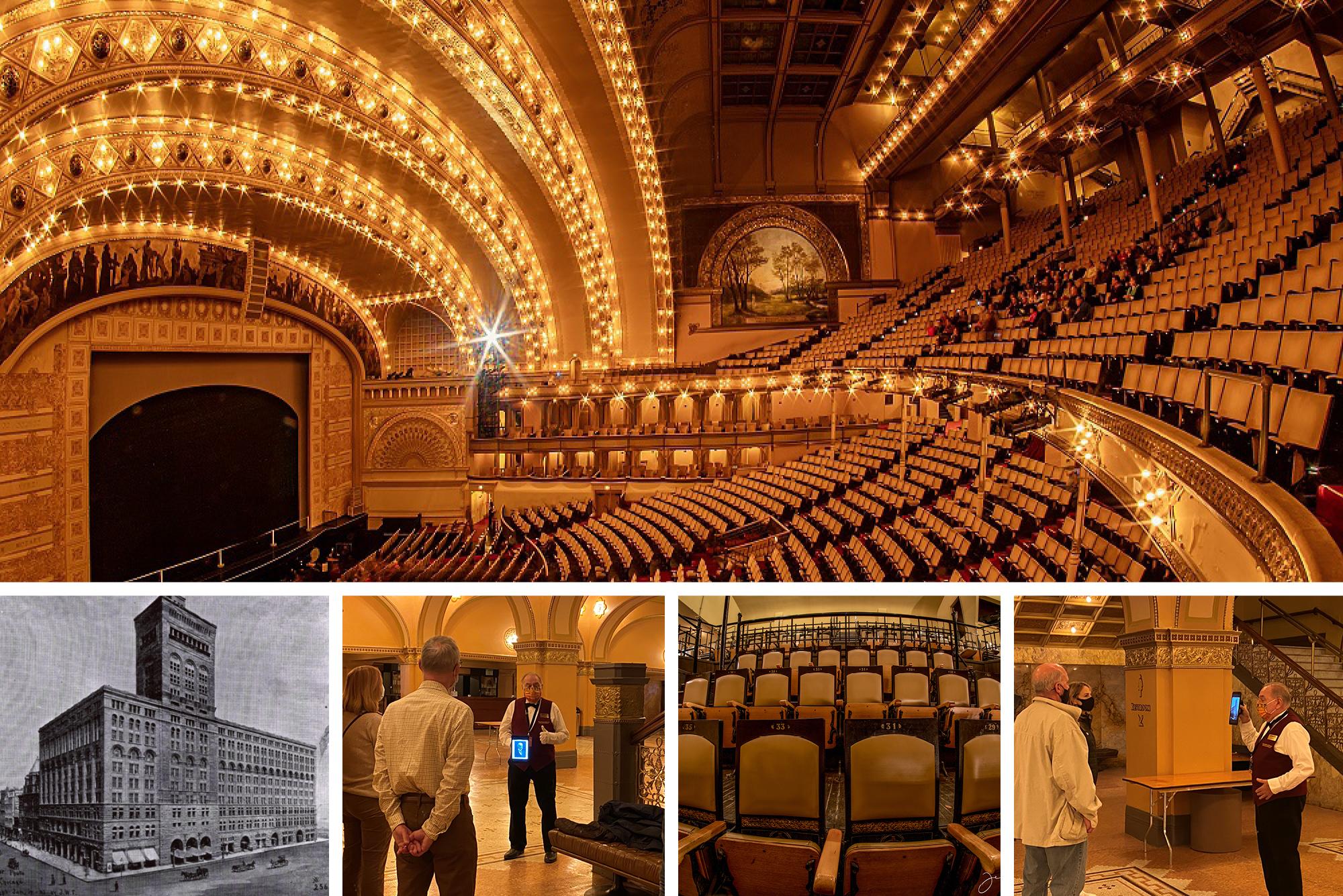 Historic Tours of the Auditorium Theatre