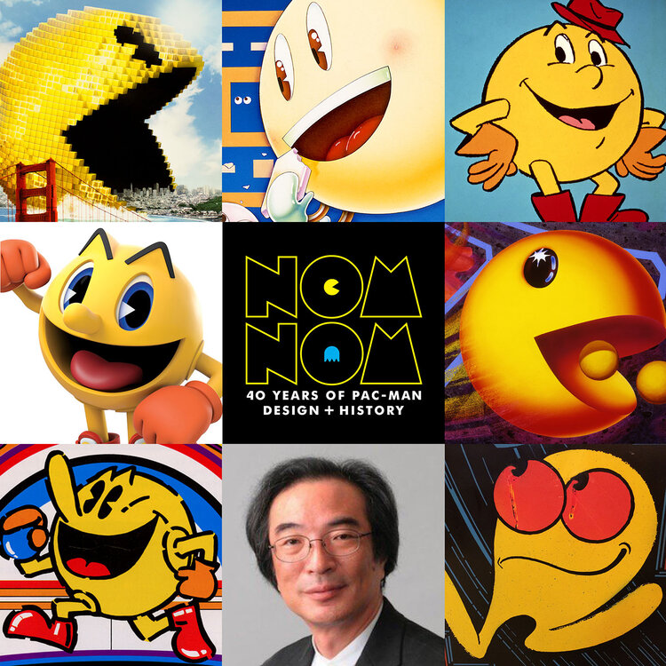 Nom Nom: 40 Years of Pac-Man Design and History