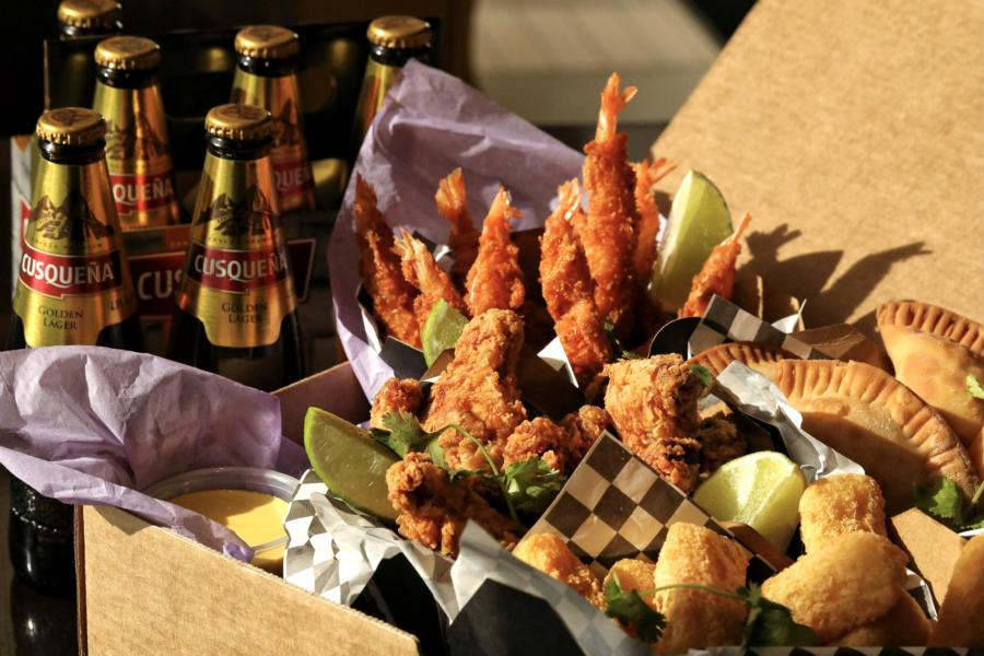 Wings and beers from Tanta for game day
