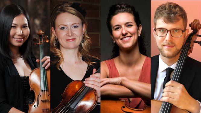 Dame Myra Hess Memorial Concerts | Illinois Philharmonic Orchestra String Quartet