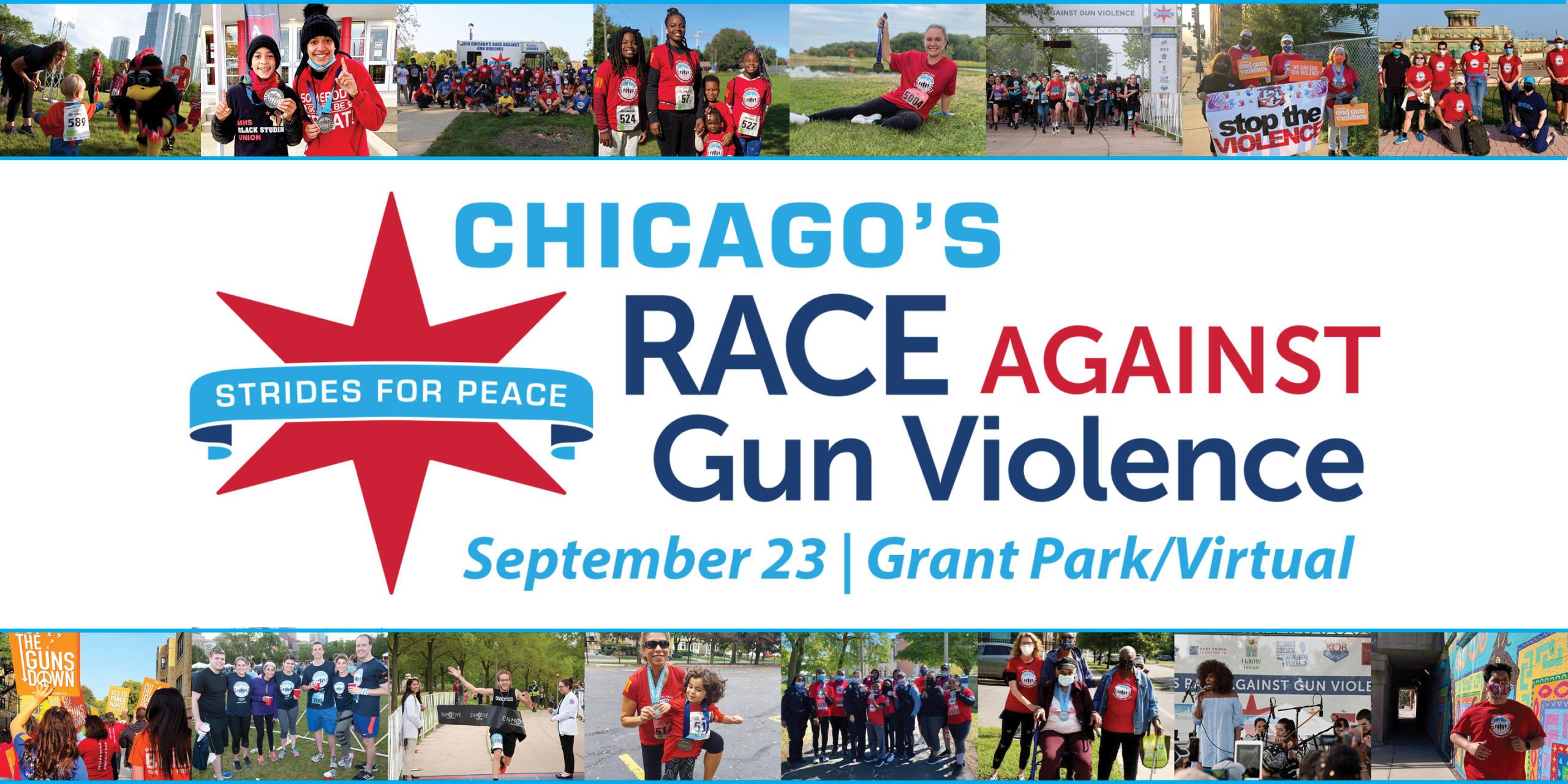 Strides For Peace, Race Against Gun Violence