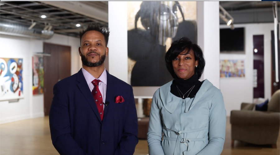 The founders of Gallery Guichard