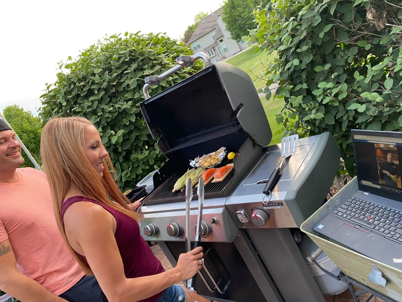 Live Fire: New Backyard Favorites Virtual Grilling Class