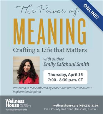 The Power of Meaning: Crafting a Life That Matters – Online