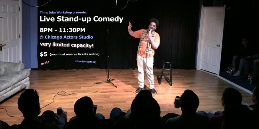 Tim's Joke Workshop presents: Live Stand-up Comedy