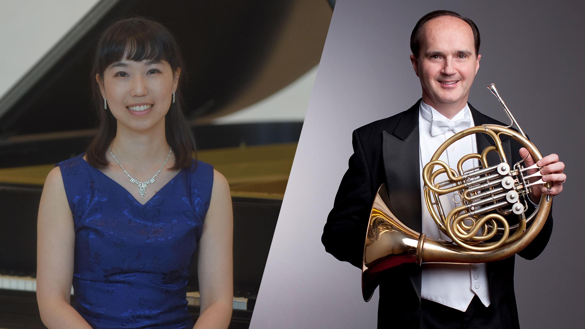 Dame Myra Hess Memorial Concerts   David Griffin, Horn Mio Nakamura, Piano