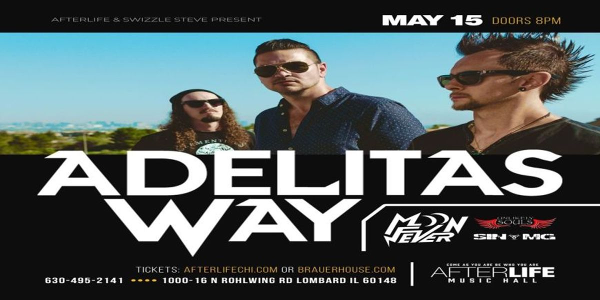 Adelitas Way, MoonFever, Sin MG and Unlikely Souls Live!