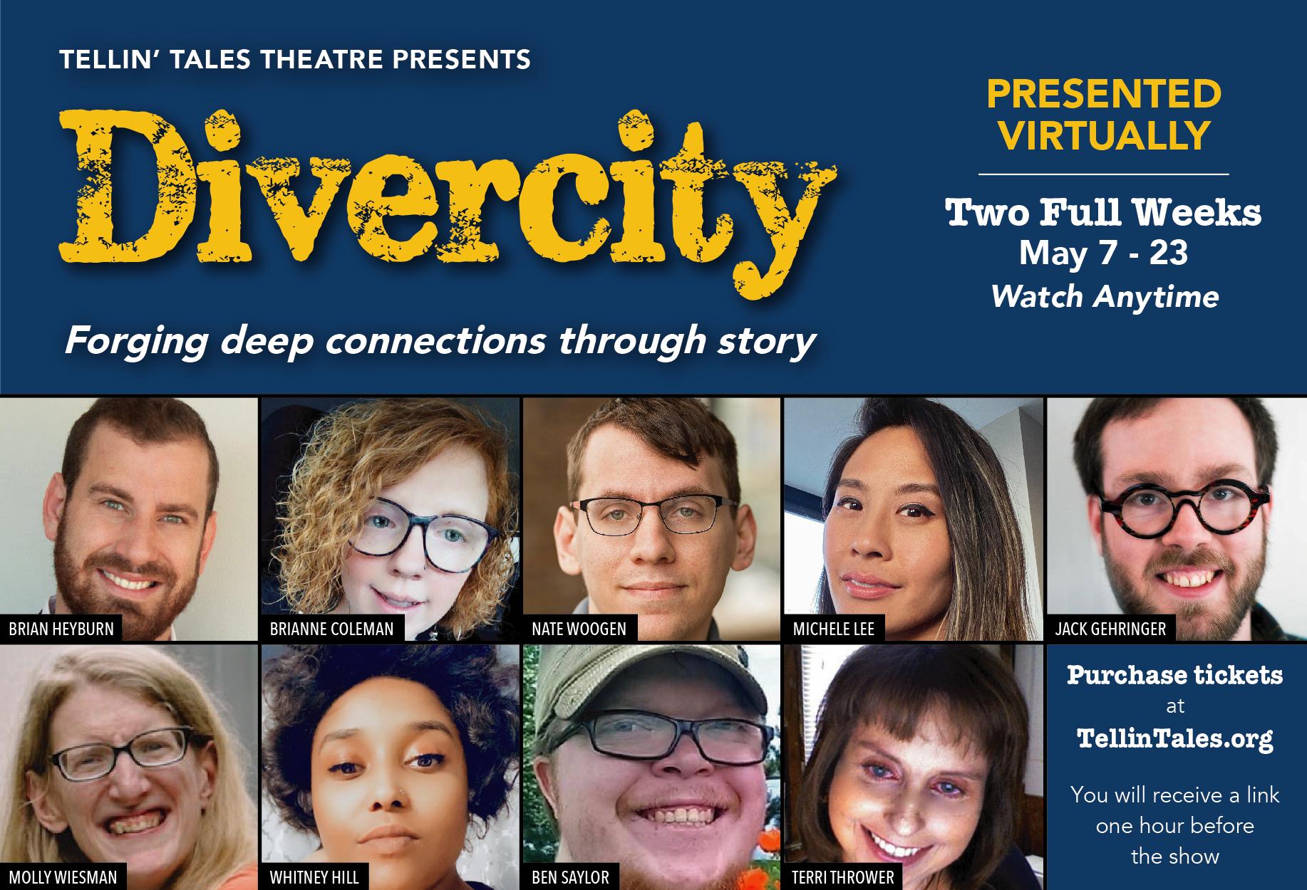 Tellin' Tales Theatre Presents: Divercity