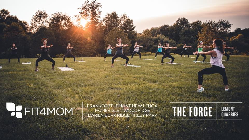 Free FIT4MOM Body Boost Class at The Forge: Lemont Quarries