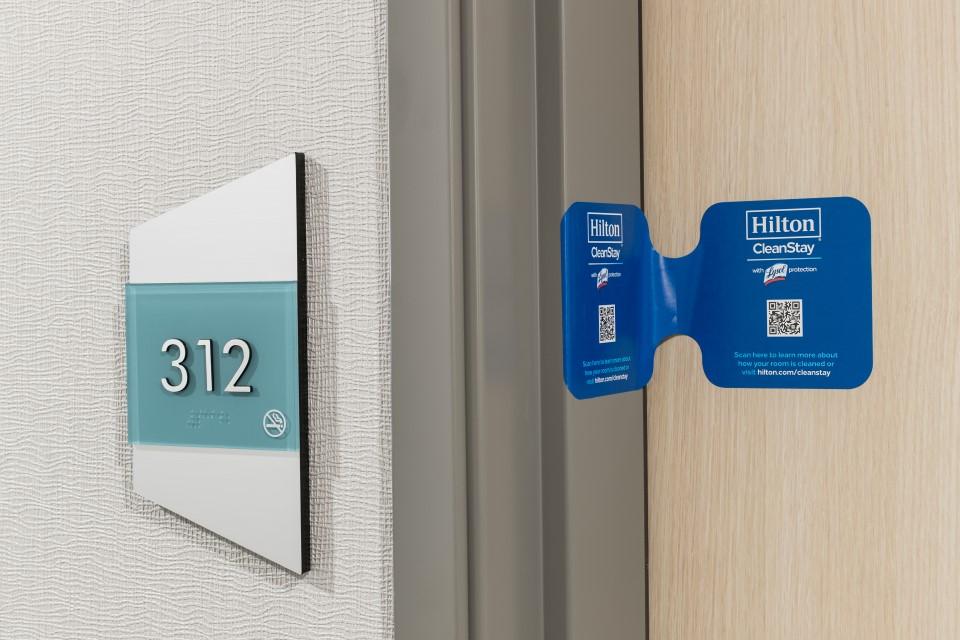 Hilton CleanStay Door Seal