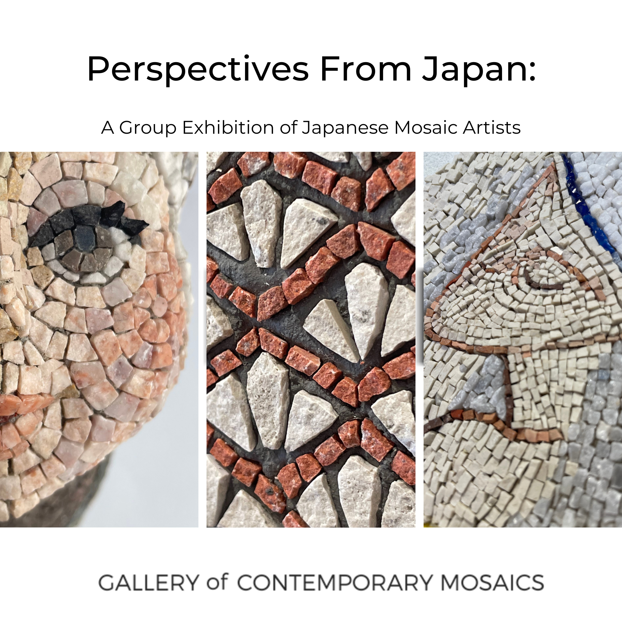 Perspectives From Japan: A Group Exhibition of Japanese Mosaic Artists