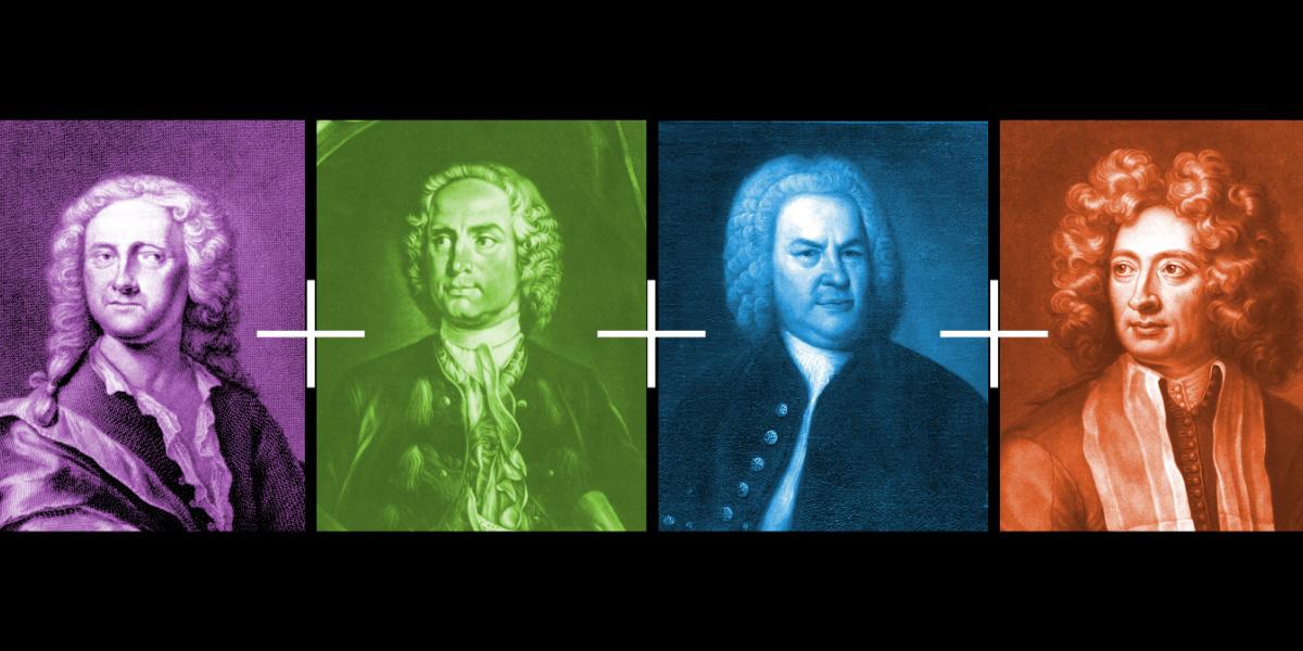 Plus Fours! Handel, Telemann, Locatelli, Vivaldi