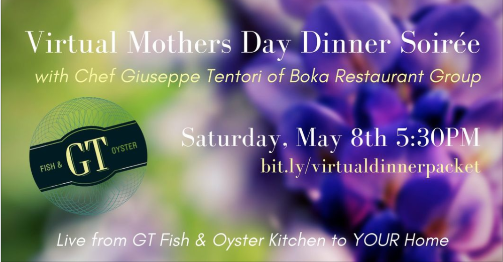 A Virtual Mother's Day Dinner Soirée