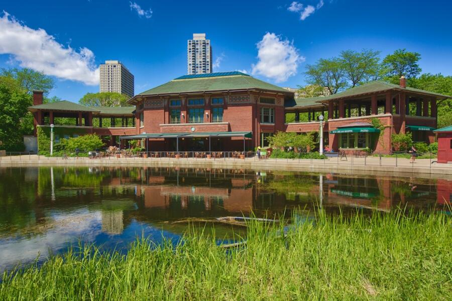 Cafe Brauer at Lincoln Park Zoo