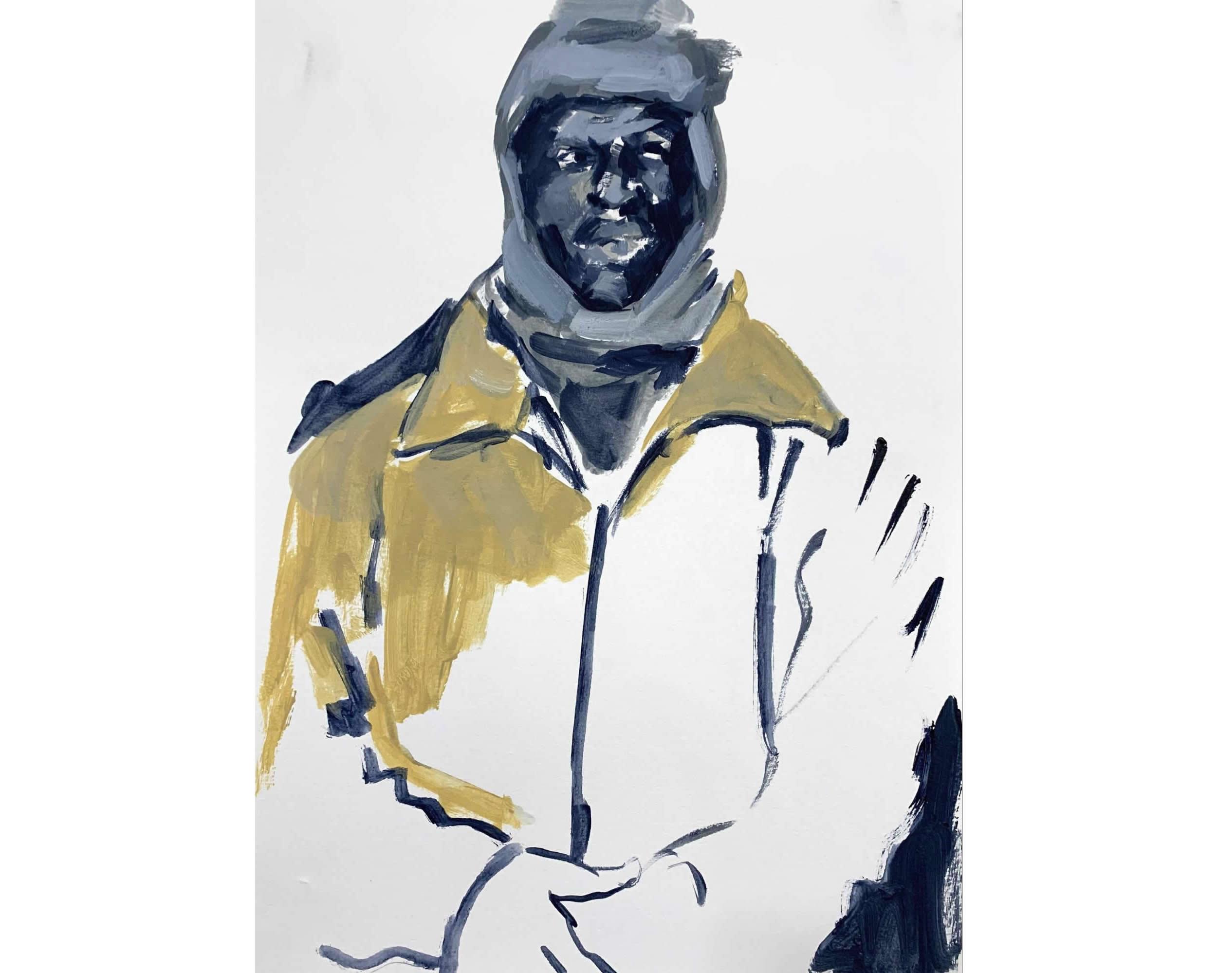 Wangari Mathenge – The Expats Series: Impressions on Paper