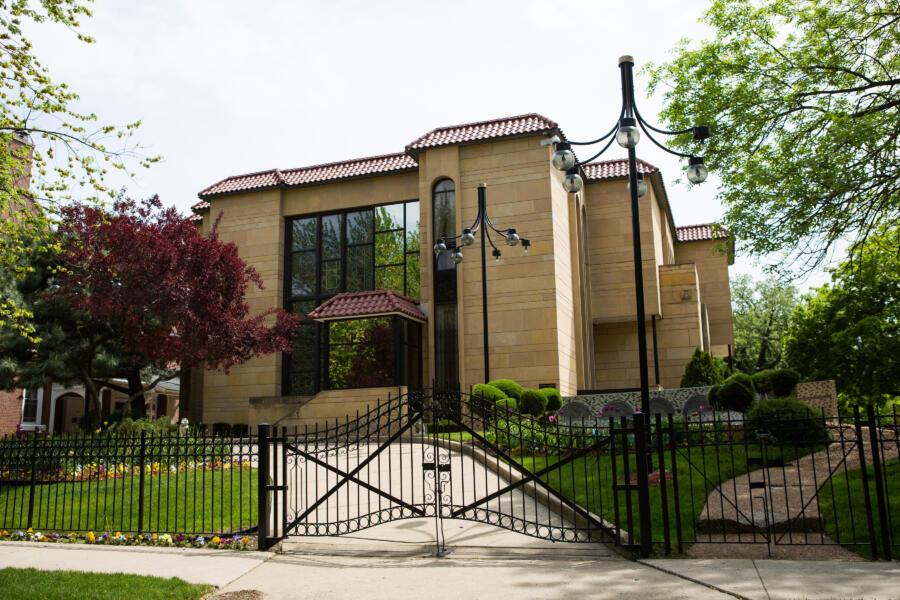 Historic architecture in the Kenwood neighborhood