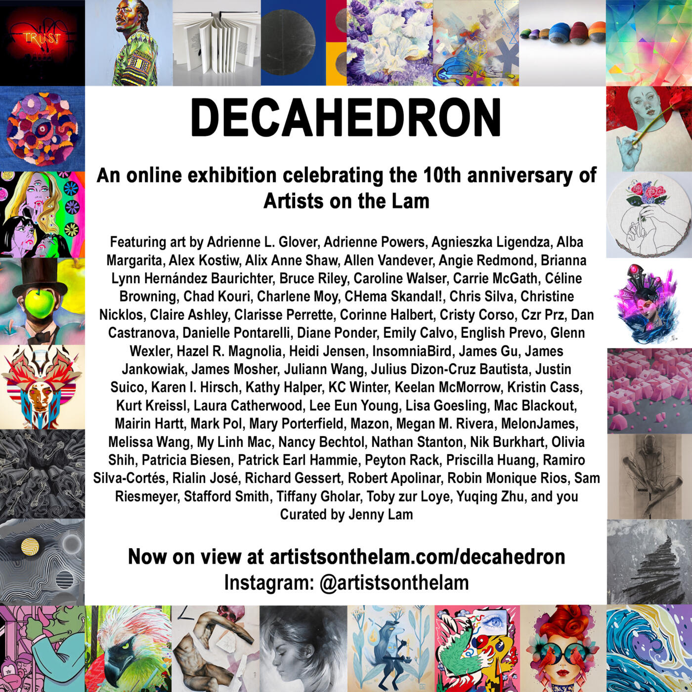 DECAHEDRON Promo Graphic