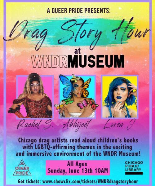 Drag Story Hour at WNDR Museum