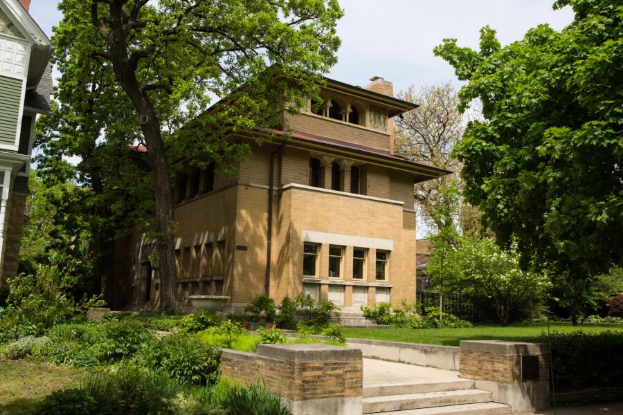 Frank Lloyd Wright's Heller House
