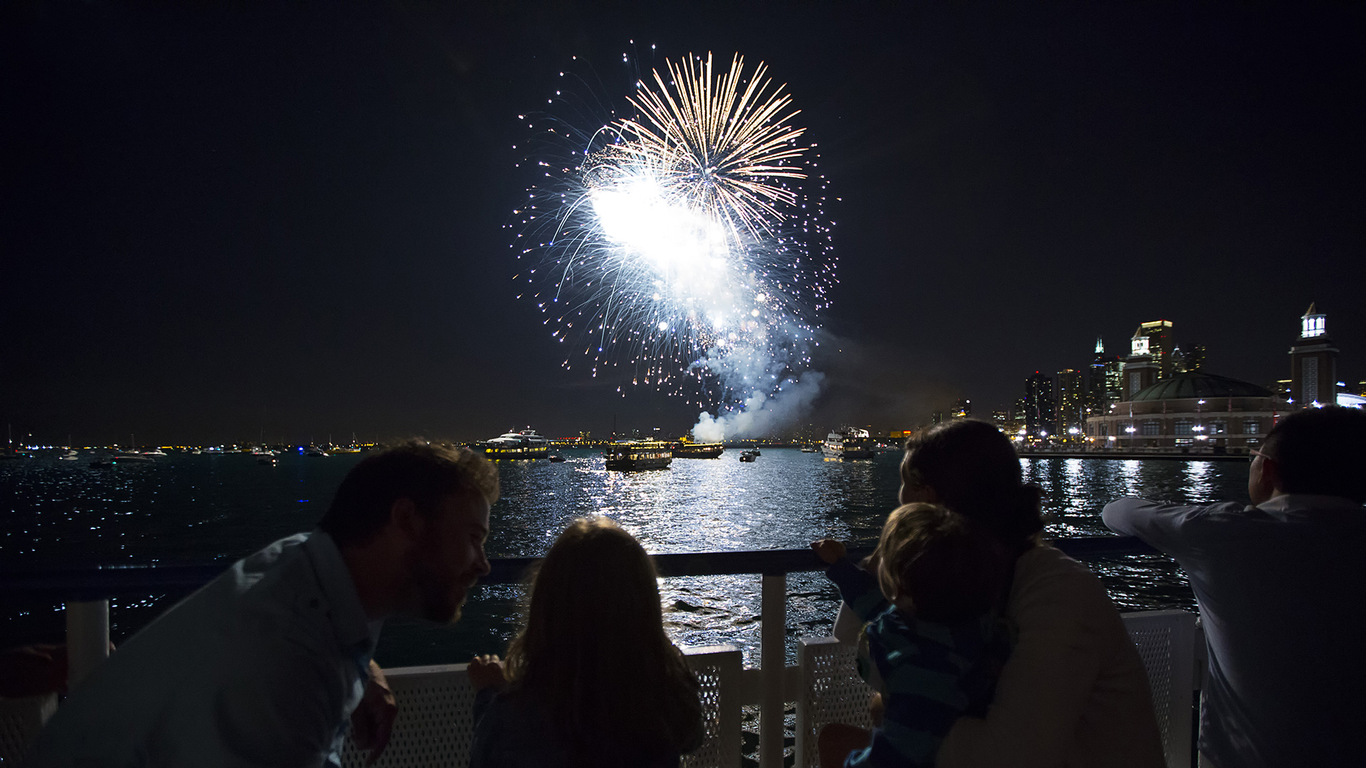 Shoreline Sightseeing Fireworks Tours