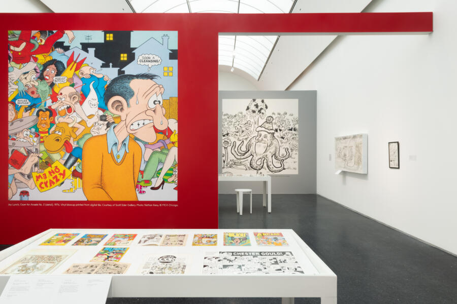 An exhibit at the Museum of Contemporary Art