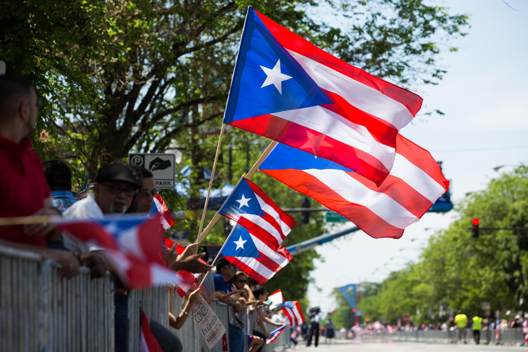 Puerto Rican Parade in Humboldt Park