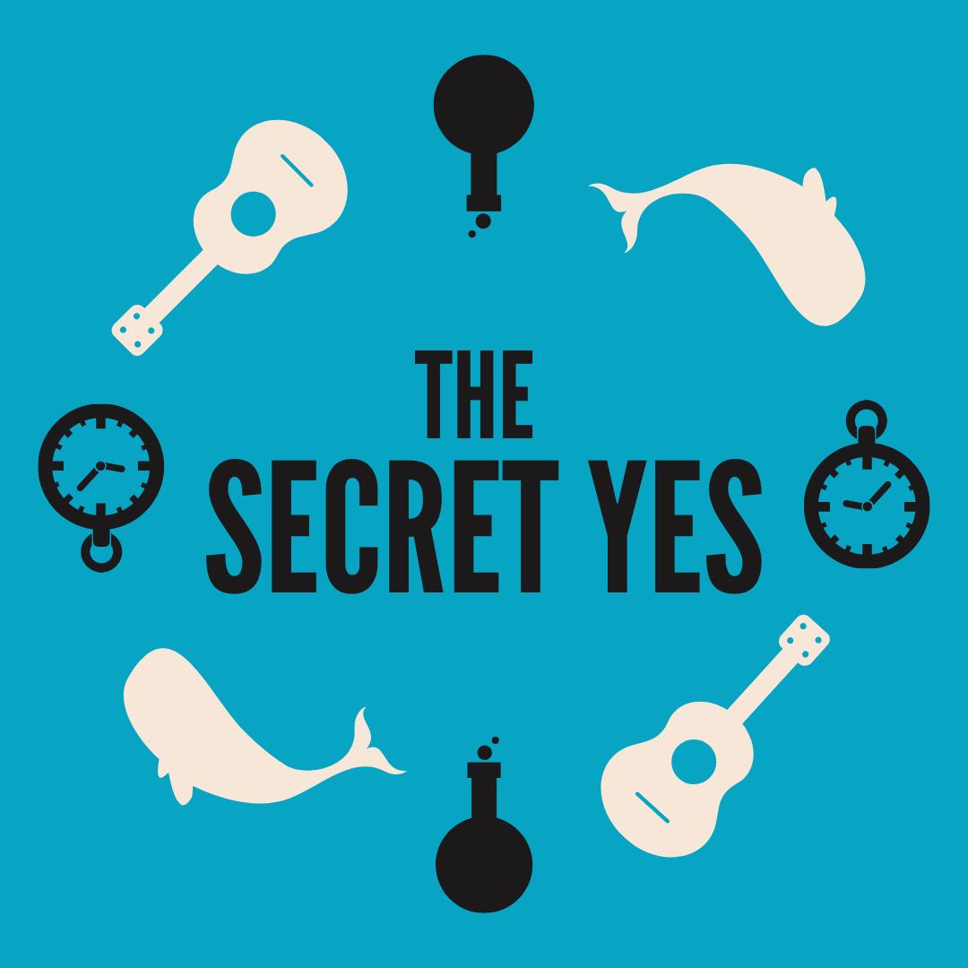 Secret Yes Social Circle Blue