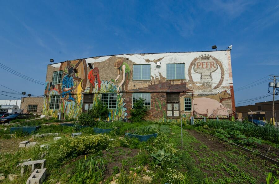 The Plant in Chicago's Back of the Yards neighborhood. Photo by Eric Allix Rogers.